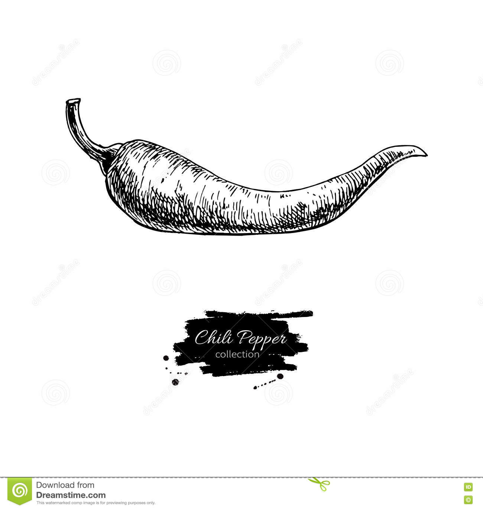 Jalapeno Vegetable Icon Vector Illustration