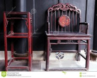 Chinese ancient furniture stock image. Image of wooden ...