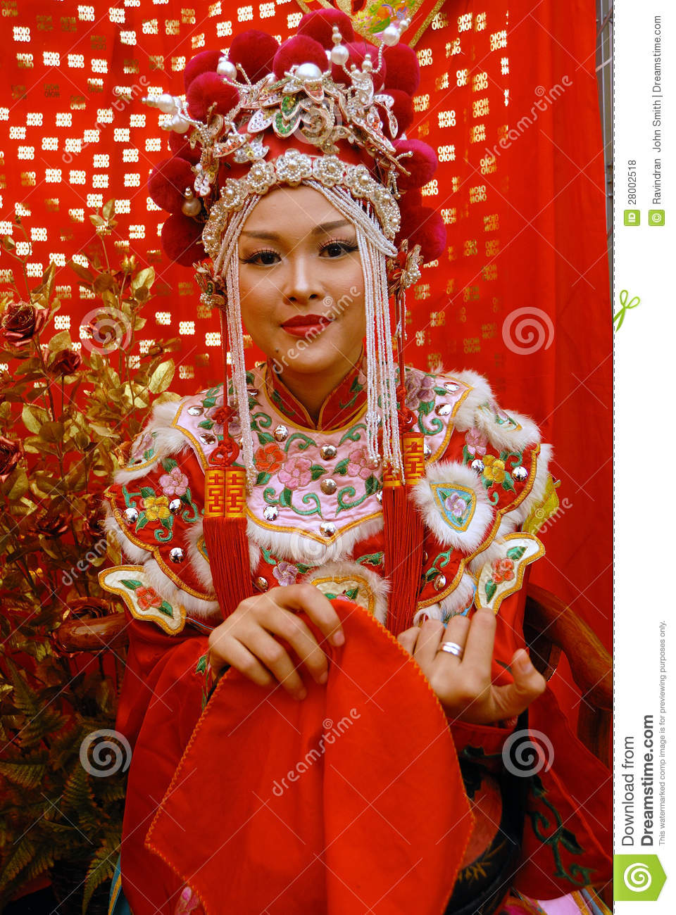 Chinese Bride Editorial Stock Photo  Image 28002518