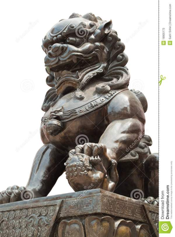 Chinese Dragon Statue Sculpture Stock - Of