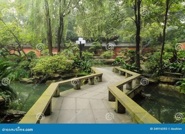 chinese garden stock