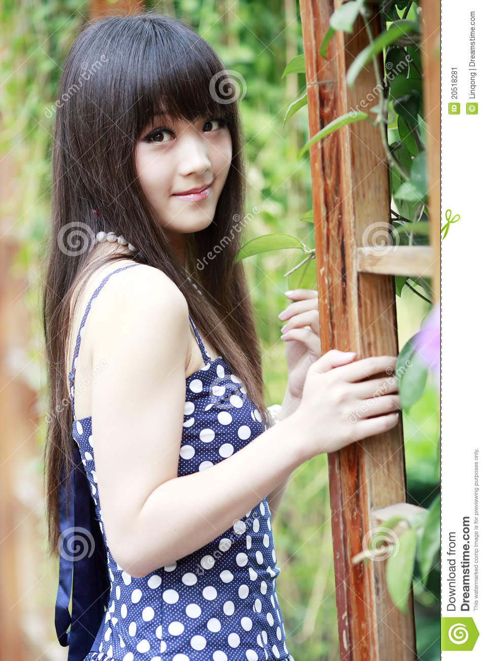 chinese girl in the