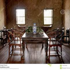 Chinese Living Room How To Decorate A Rectangular With Fireplace Old Style Stock Photo Image Of Oriental Chair Traditional House