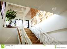 Chinese Style House Stairs Stock - 25173460