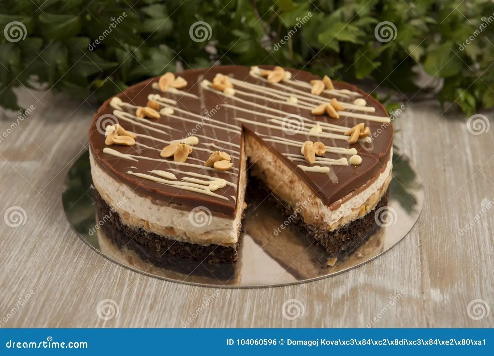 Snickers Kuchen Torte Prajitura Snickers