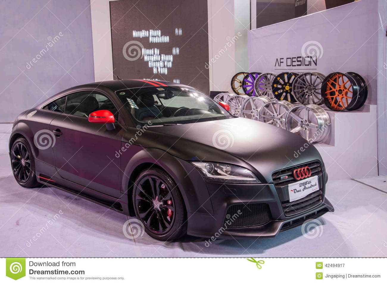 Chongqing Auto Show Audi Series Car Editorial Photography  Image 42494917