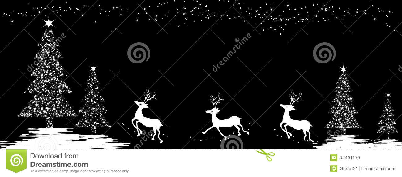 Christmas Background Stock Vector Image Of Decoration