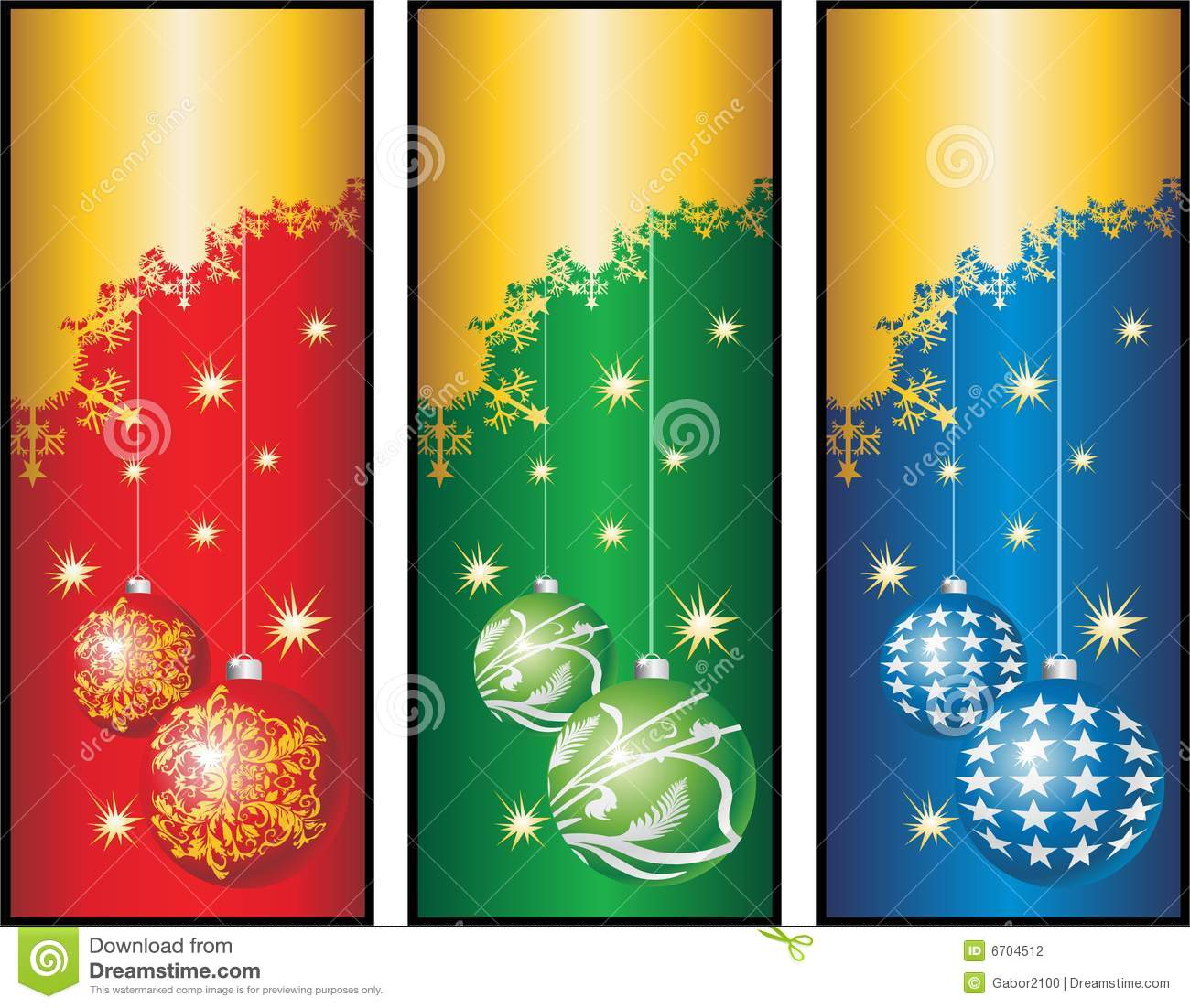 3d Animation Wallpaper Download Christmas Banners Cdr Stock Photography Image 6704512