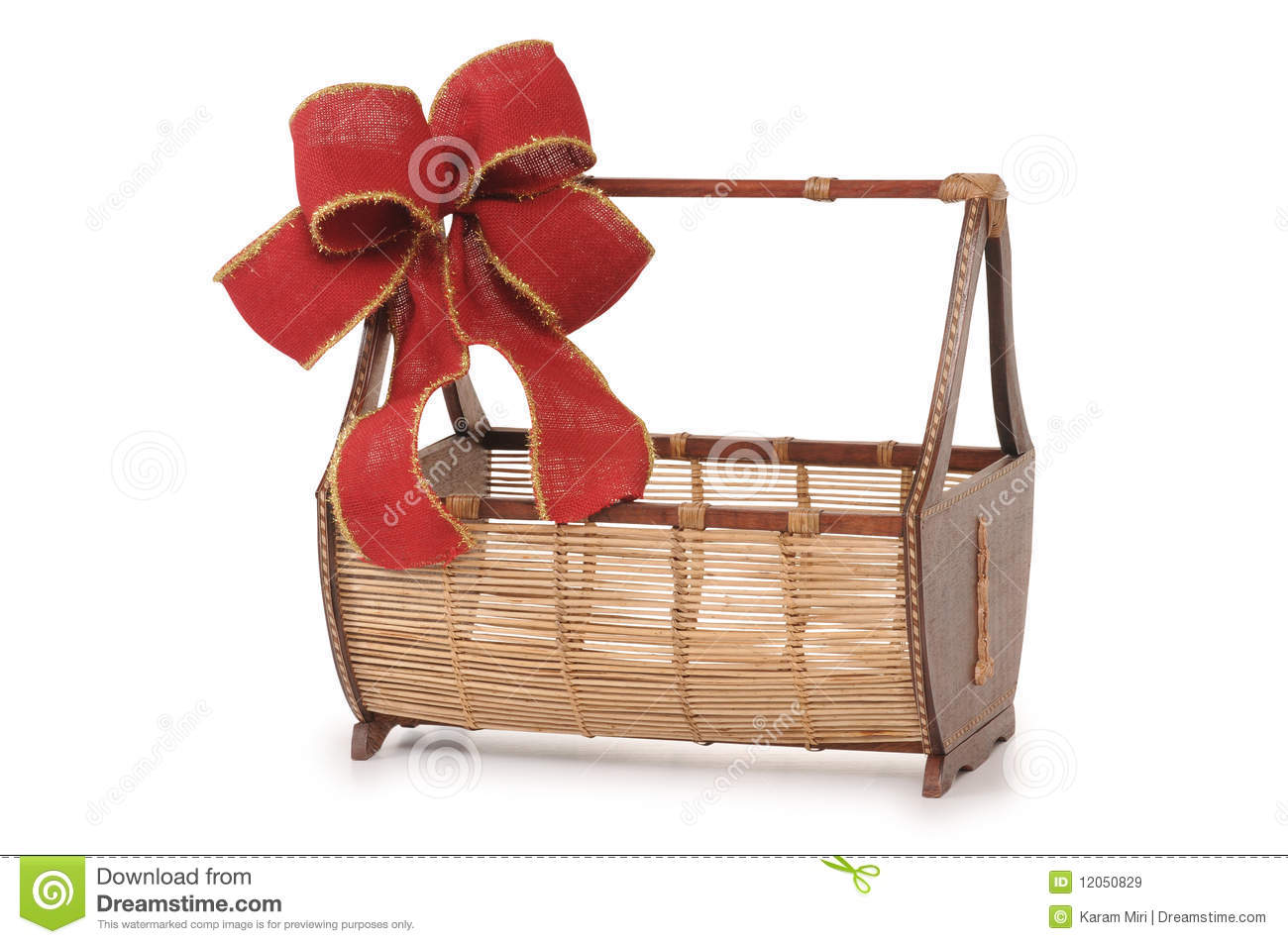 Christmas Basket Royalty Free Stock Images Image 12050829