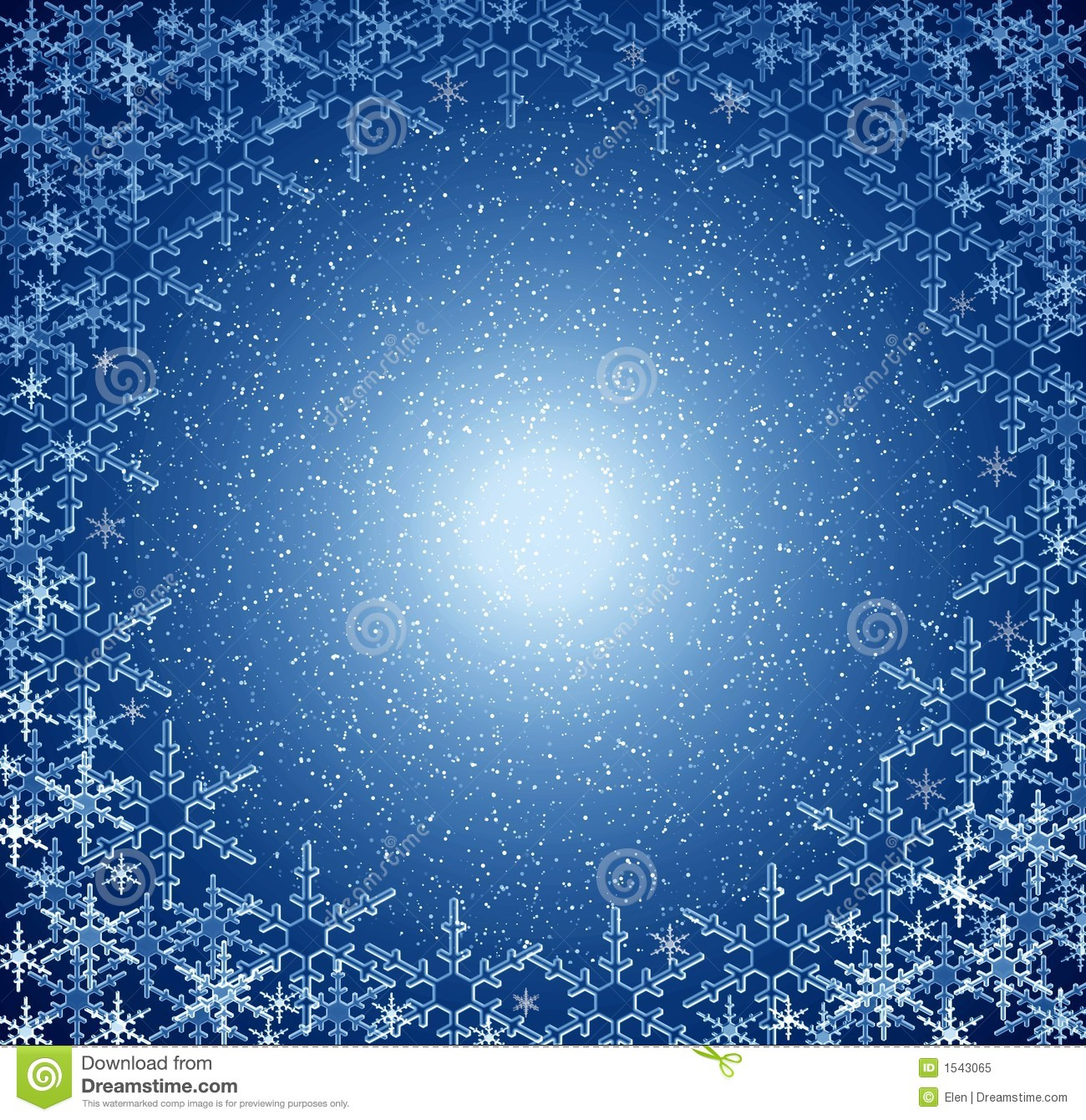 Free 3d Snow Falling Wallpaper Christmas Blue Snow Frame Royalty Free Stock Photo Image