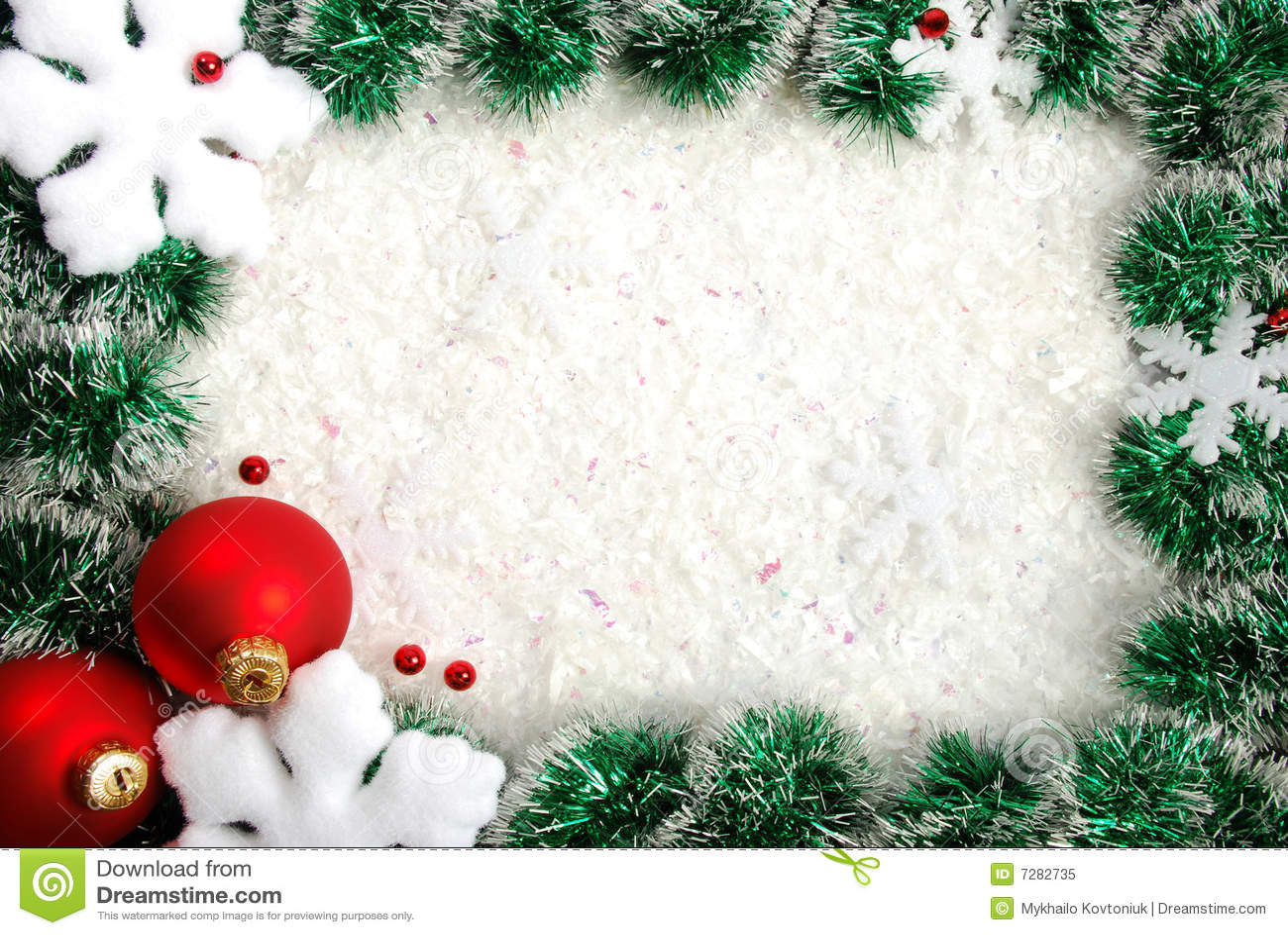 Christmas Border Royalty Free Stock Photo Image 7282735