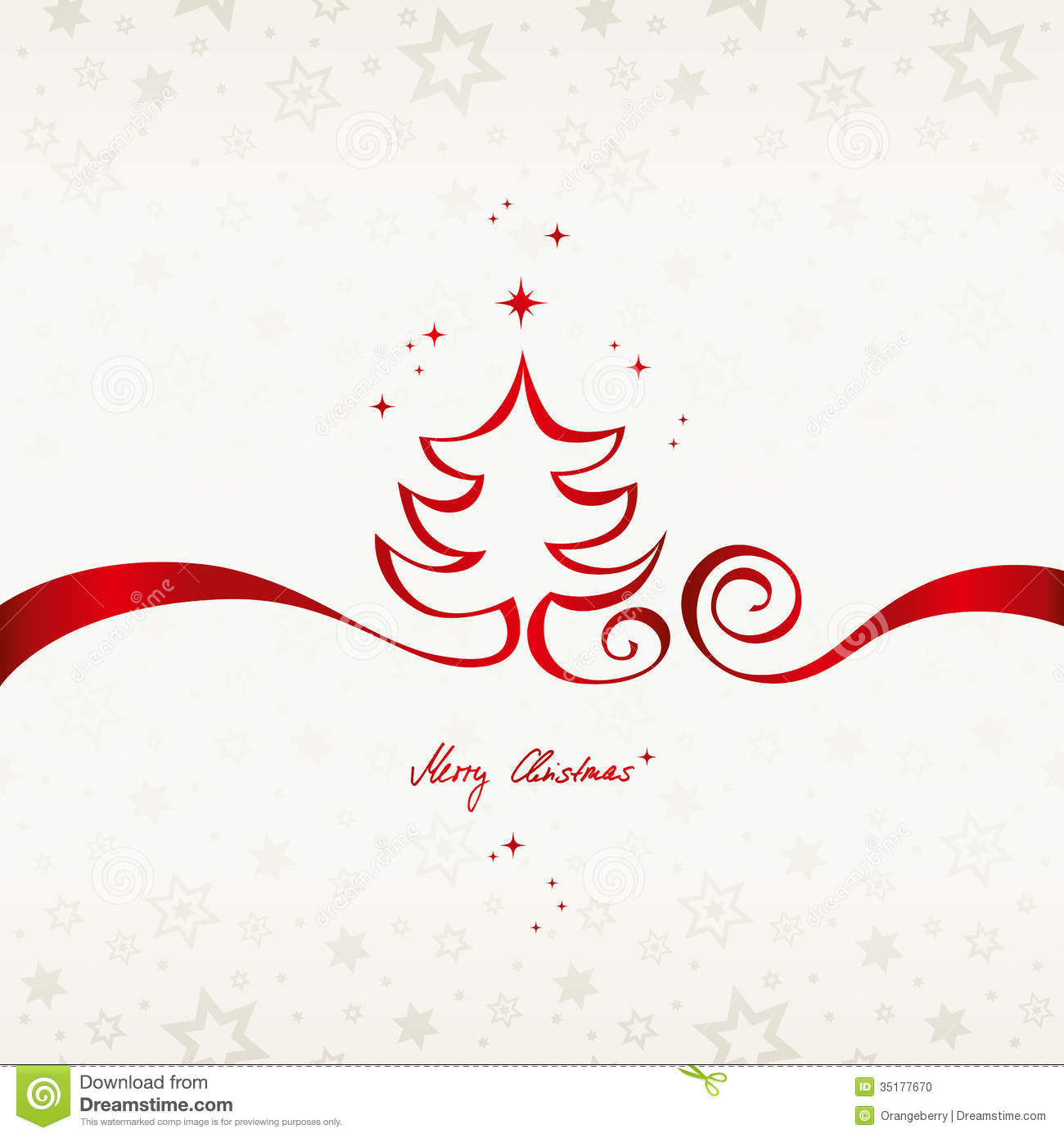 Christmas Card Stock Photo Image 35177670