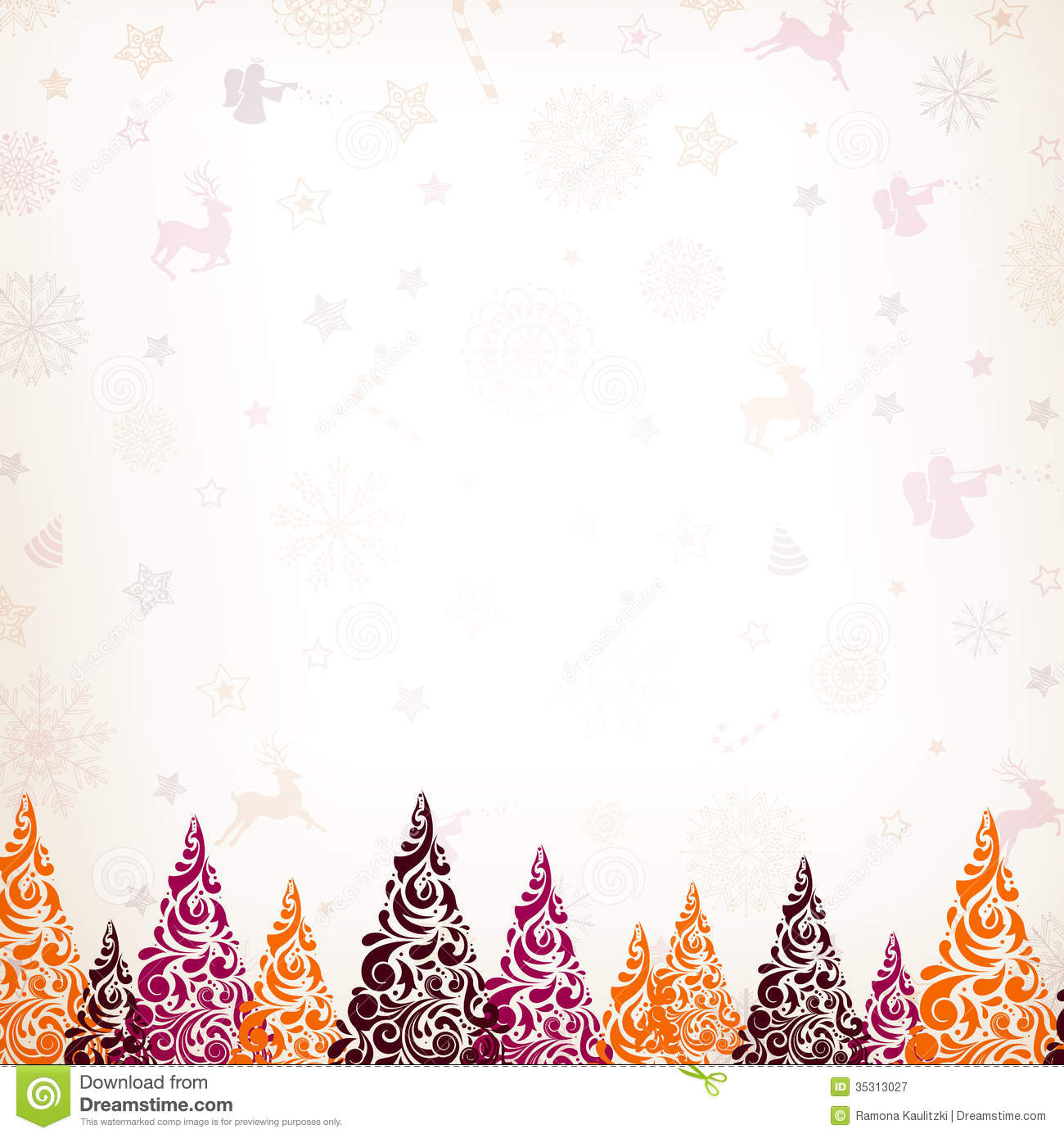 Christmas Card Royalty Free Stock Photography Image