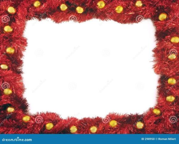 Christmas Chain Frame Stock - 298950