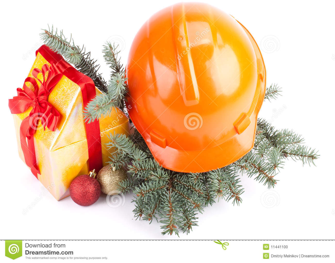 Christmas Construction Stock Photo Image 11441100