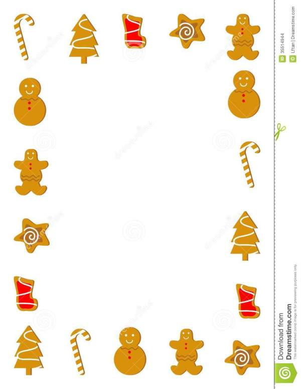 free cookie clip art borders