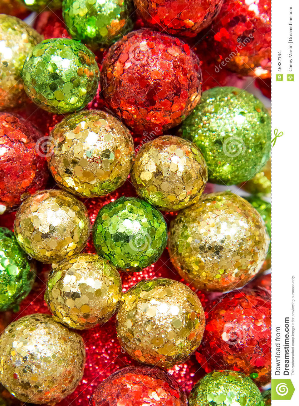 Red Green Gold : green, Christmas, Decorations,, Green, Ornaments, Stock, Photo, 45832164, Megapixl