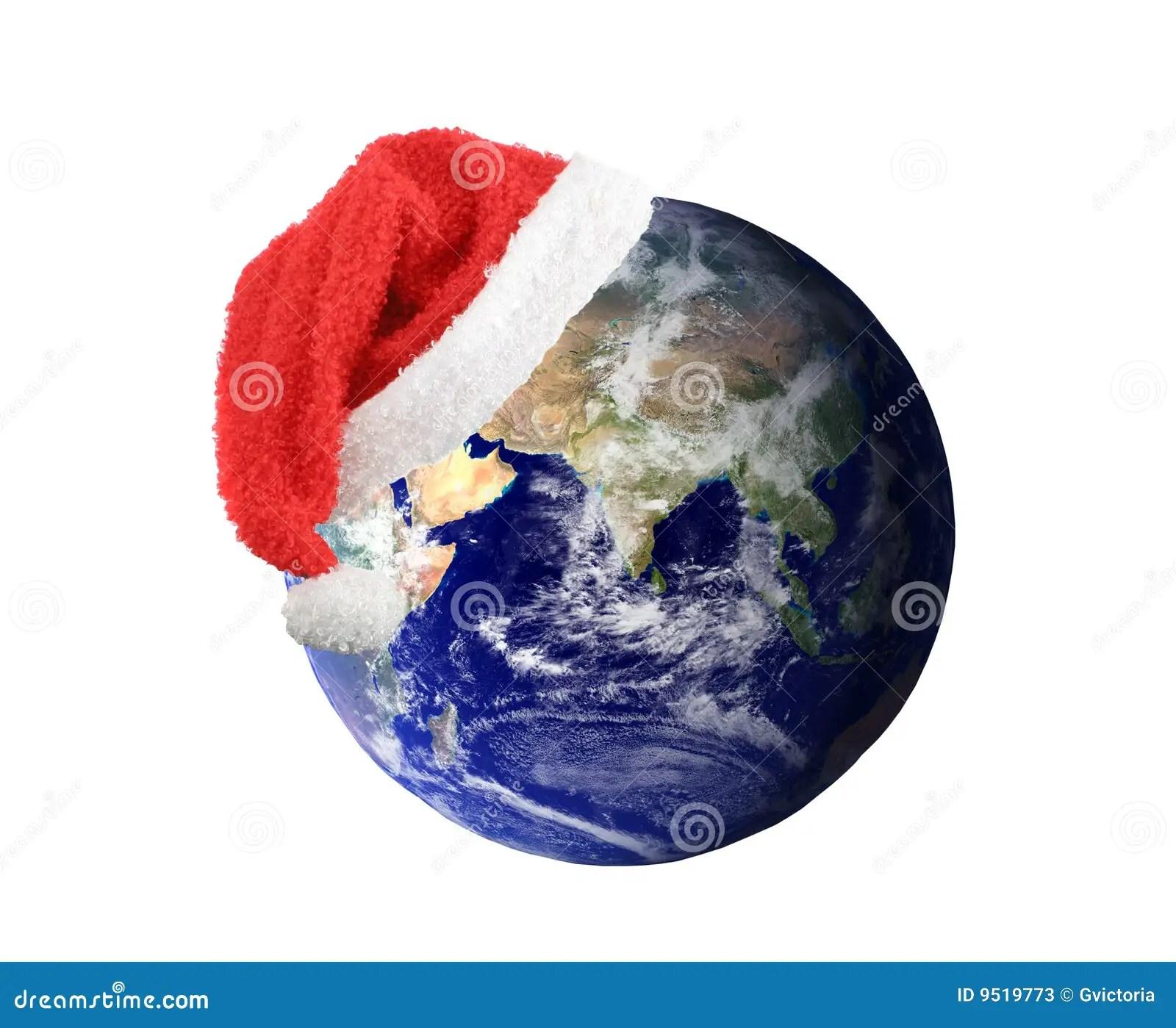 Christmas Earth Stock Photos Image 9519773