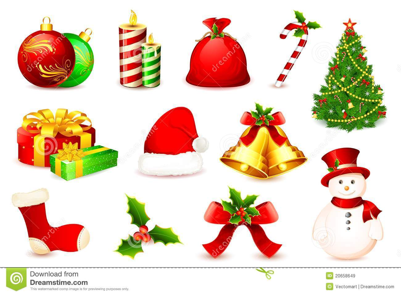 Christmas Element Royalty Free Stock Images Image 20658649