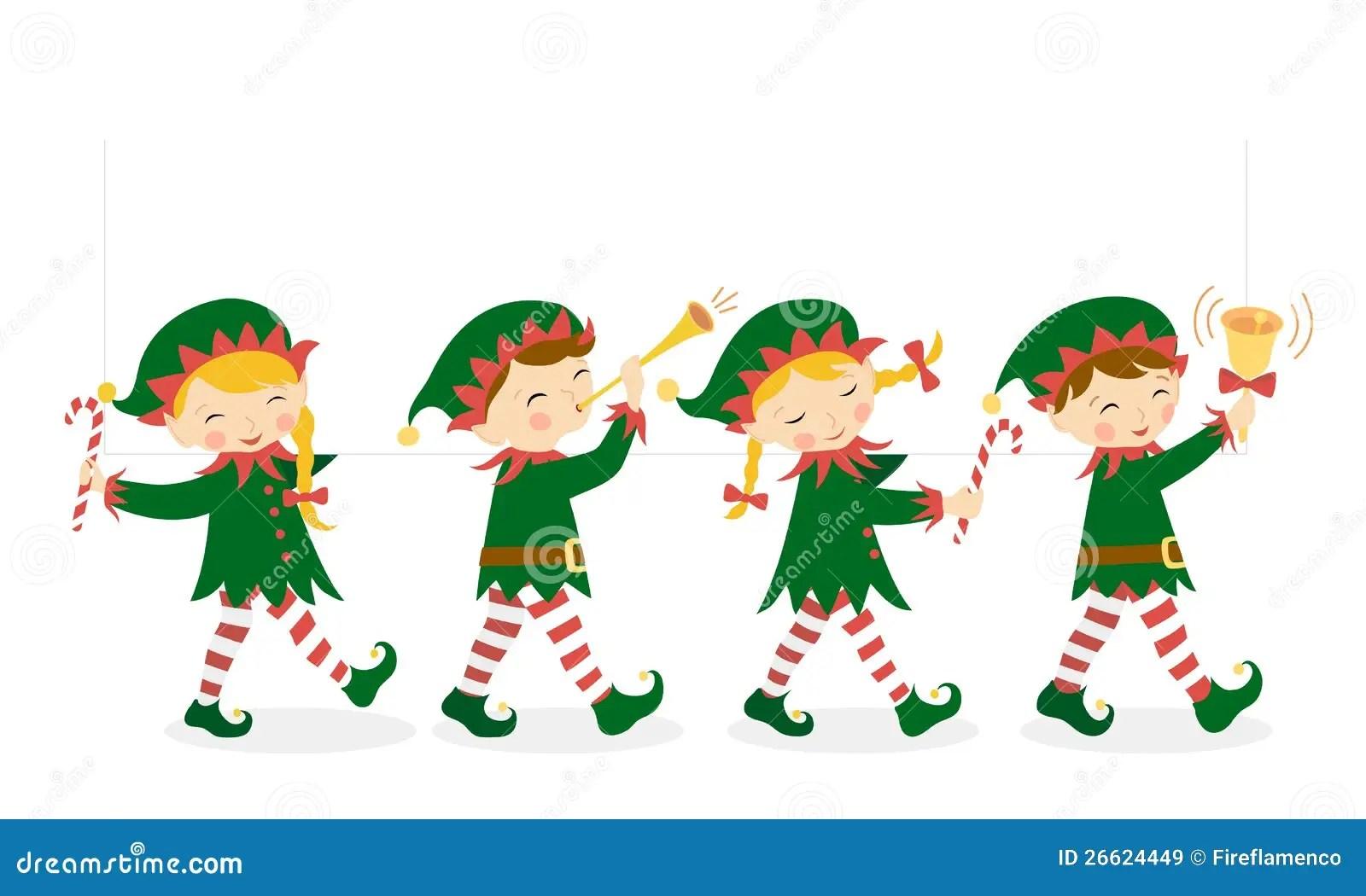 hight resolution of christmas elves