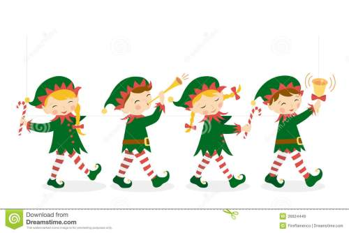small resolution of christmas elves