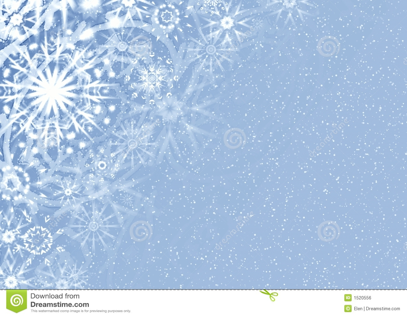 Christmas Fine Snow Card Stock Illustration Illustration