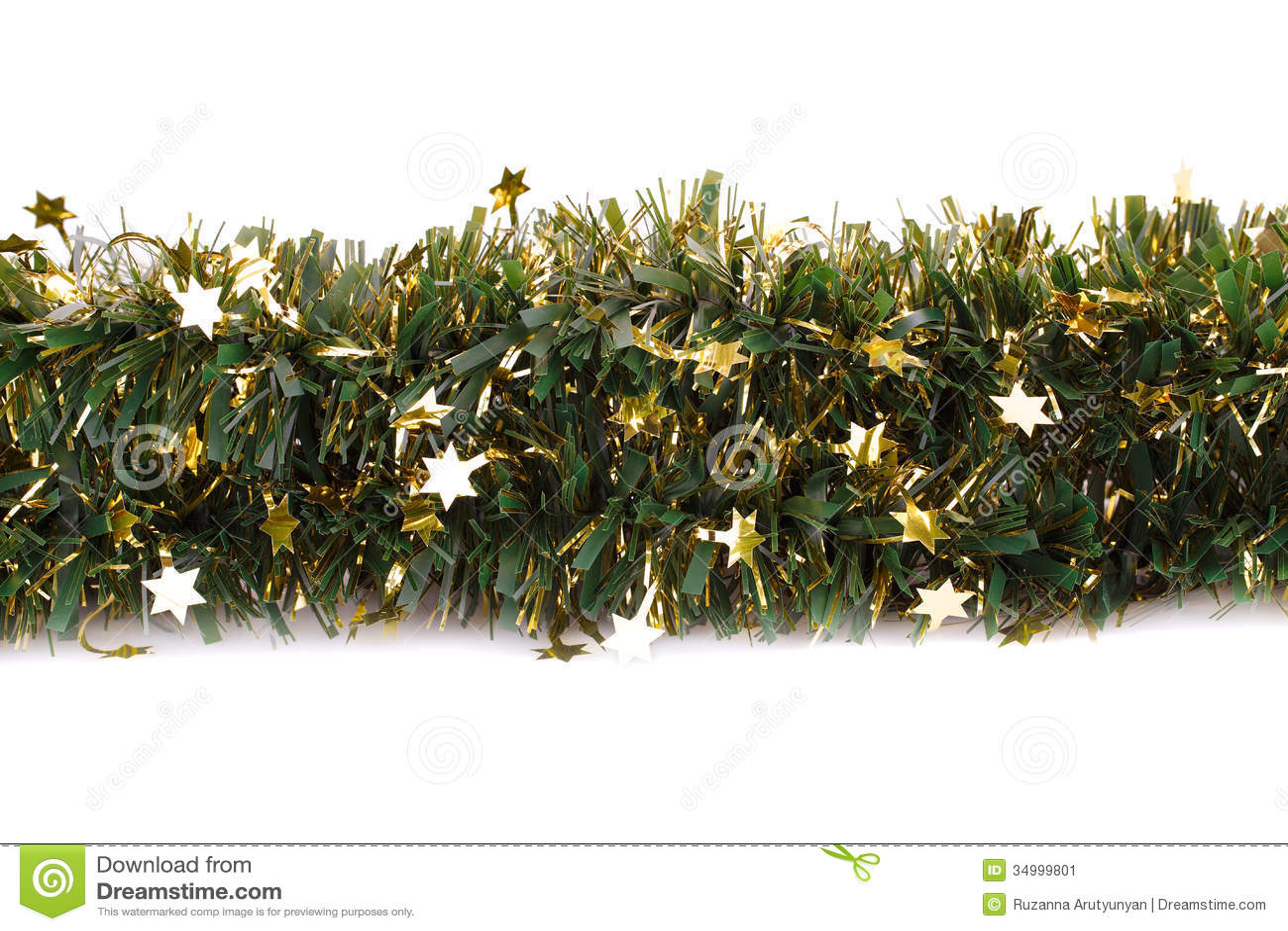 Christmas Garland Stock Image Image Of Green Merry