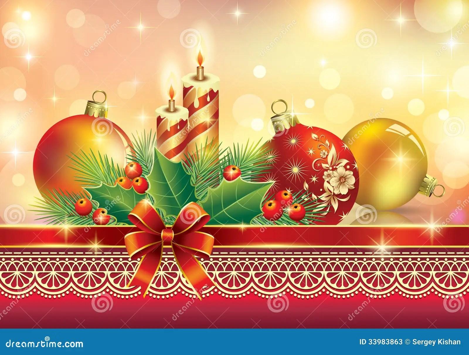 Christmas Greeting Card Stock Photos Image 33983863