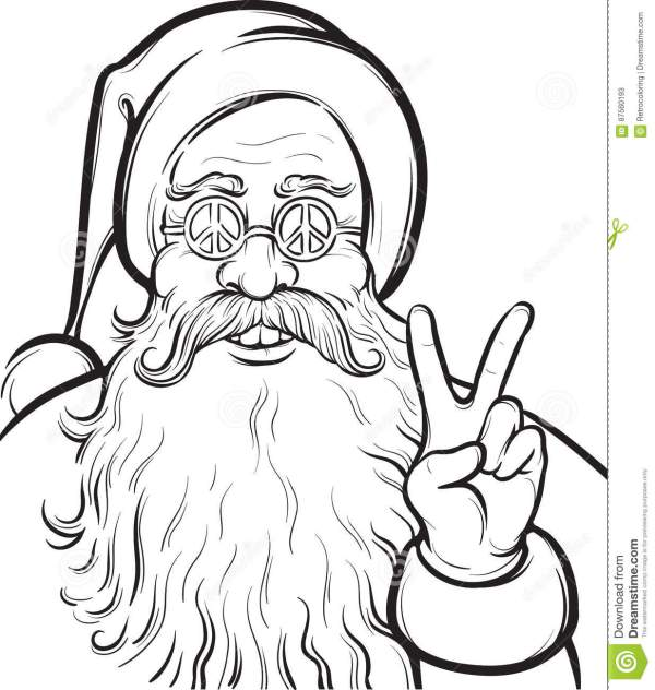 coloring pages of santa claus # 28