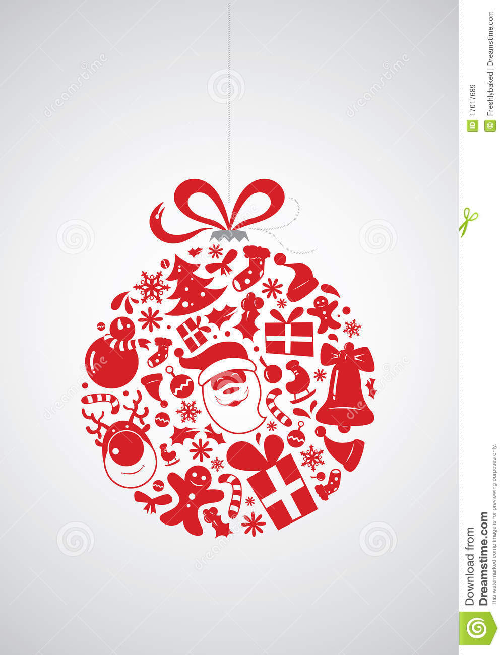 Christmas Icon Bauble Royalty Free Stock Images Image