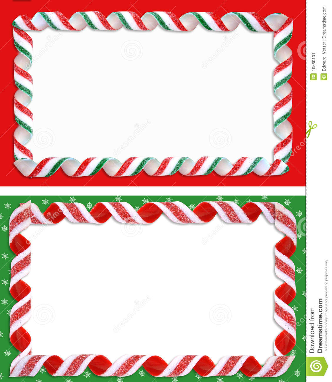 christmas labels borders blank