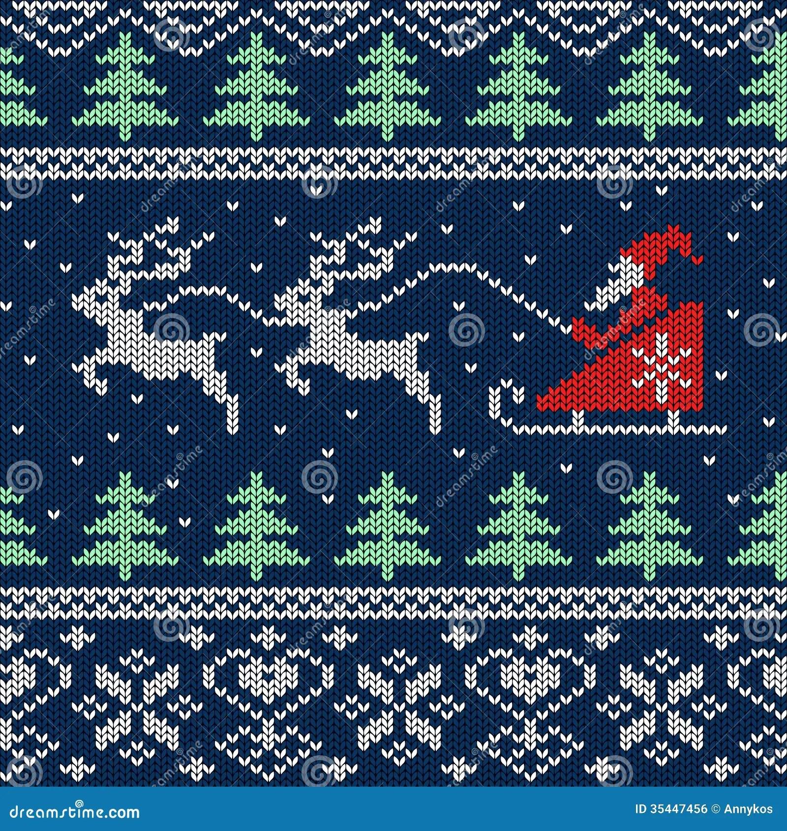 Christmas Background Pattern Sweater