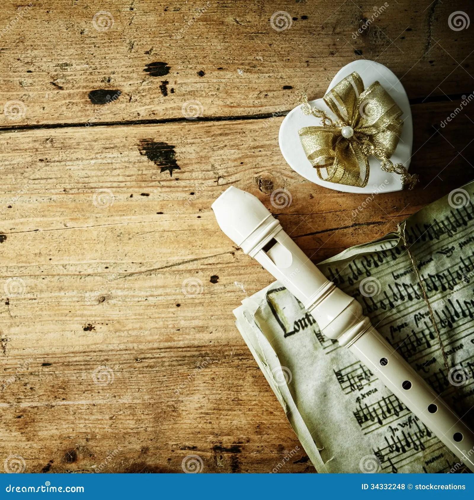 Old Wood Wallpaper Hd Christmas Night Music Royalty Free Stock Photos Image