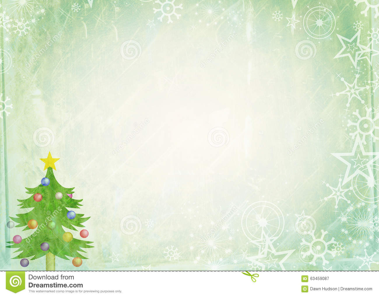 Christmas Note Paper Stock Illustration Image 63459087
