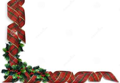 Christmas Holly Border Stock Vector Illustration And