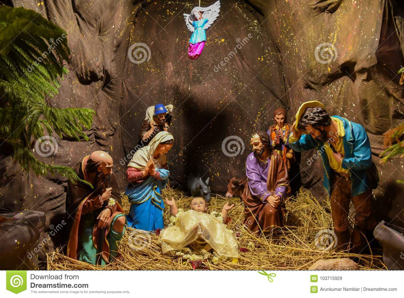 Christmas Jesus Birth Images.Birth Of Baby Jesus Pictures