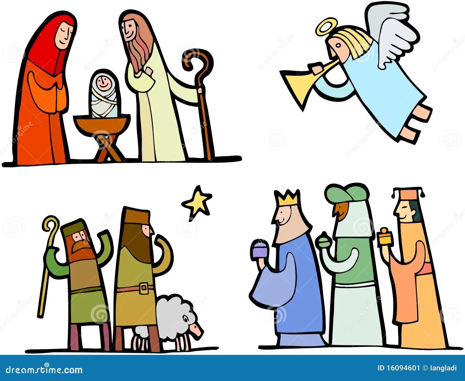 Christmas Set 3 Stock Image