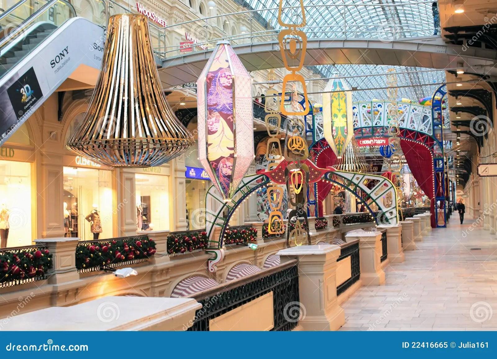 Christmas Shop Decoration Editorial Image Image 22416665