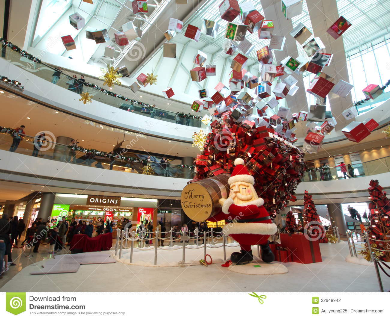 Christmas Show In IFC Mall Editorial Photography Image
