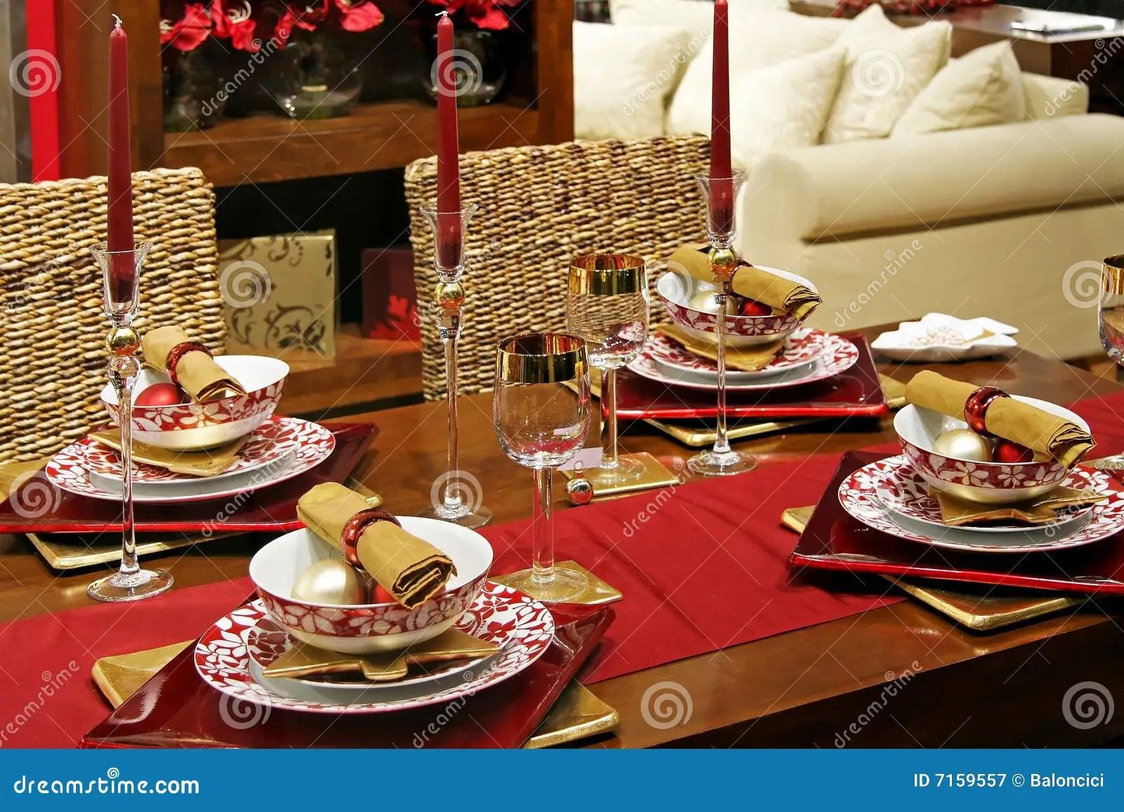 Christmas Table Royalty Free Stock Photography Image