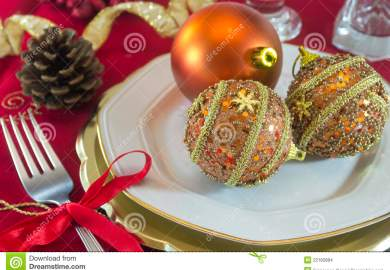Images About Christmas Table Decorations On