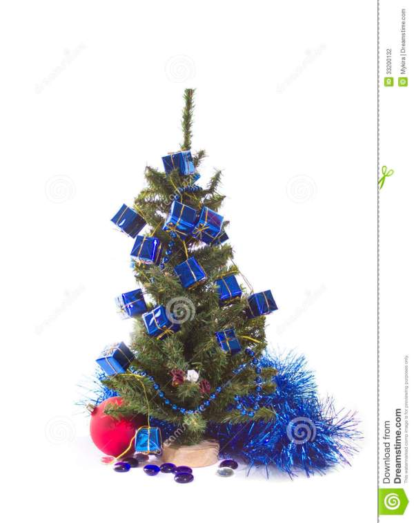 red white and blue christmas tree - Red White And Blue Decorated Christmas Tree