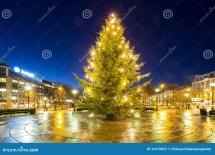 Christmas Tree Light Stock Of Card