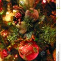 Christmas tree ornaments stock photo image 364240