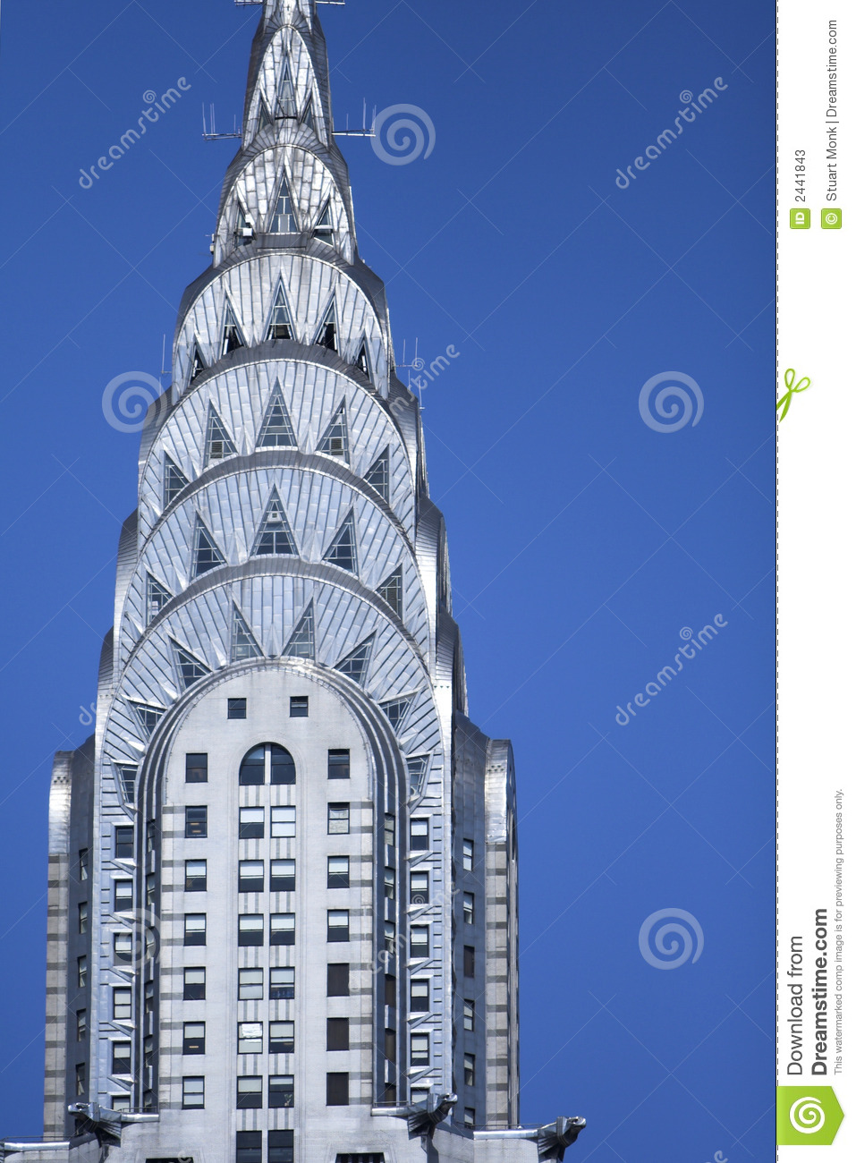 Chrysler Building Editorial Stock Photo Image Of Blue