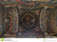 Church Ceiling - Paintings Stock Photo - Image: 43428271