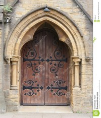 Church Doorway Royalty Free Stock Photography
