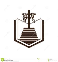 church logo christian symbols bible holy scripture the staircase leading to the [ 1300 x 1390 Pixel ]