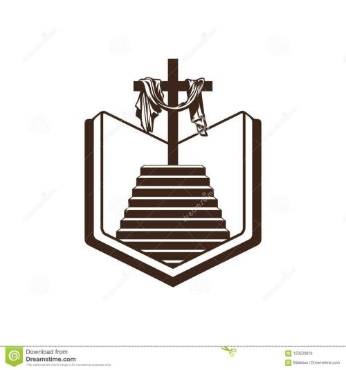small resolution of church logo christian symbols bible holy scripture the staircase leading to the