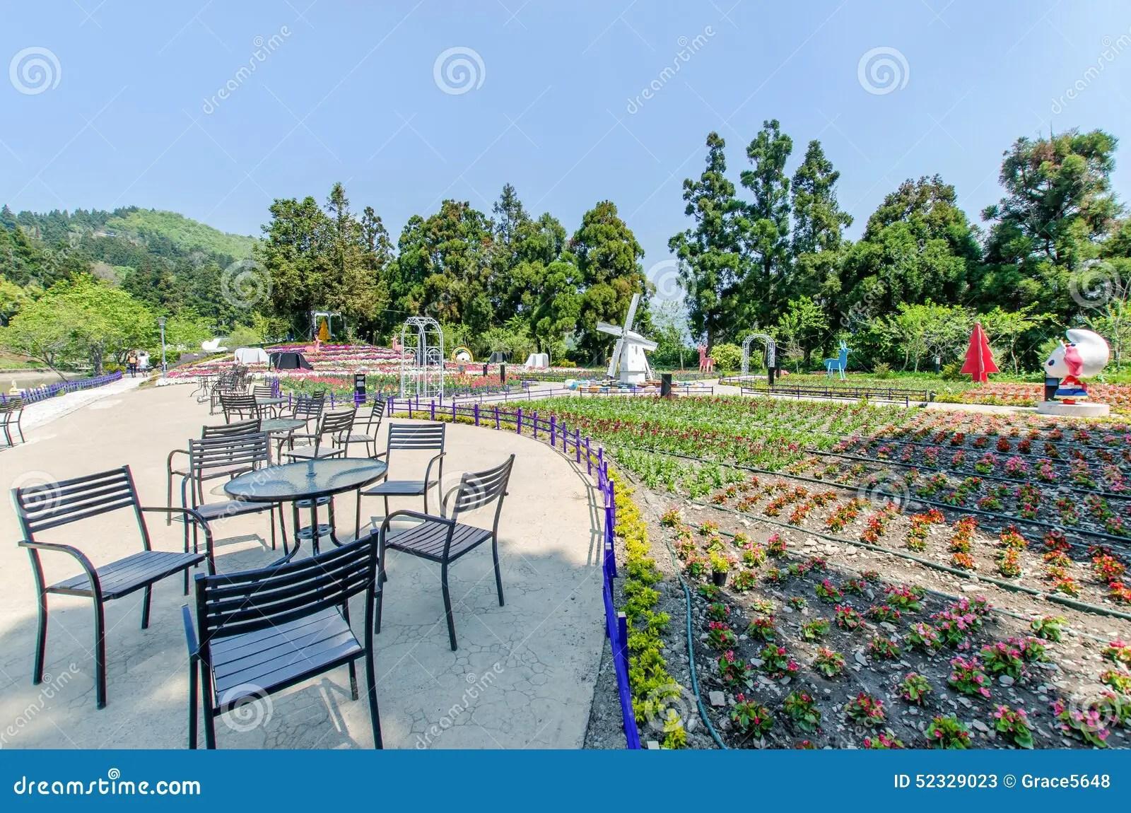 Cingjing Small Swiss Garden In Nantou Taiwan Editorial